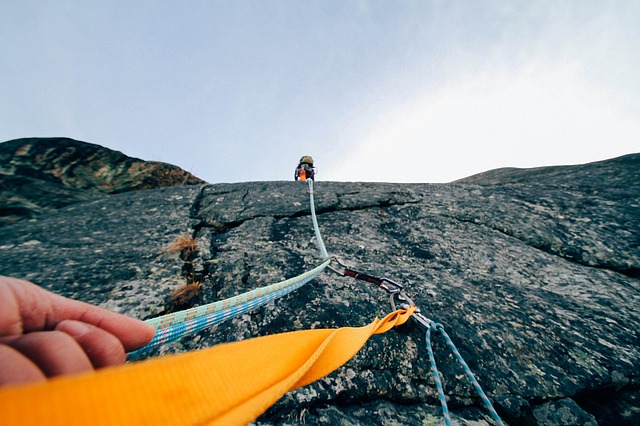Horolezectví u Lipna
