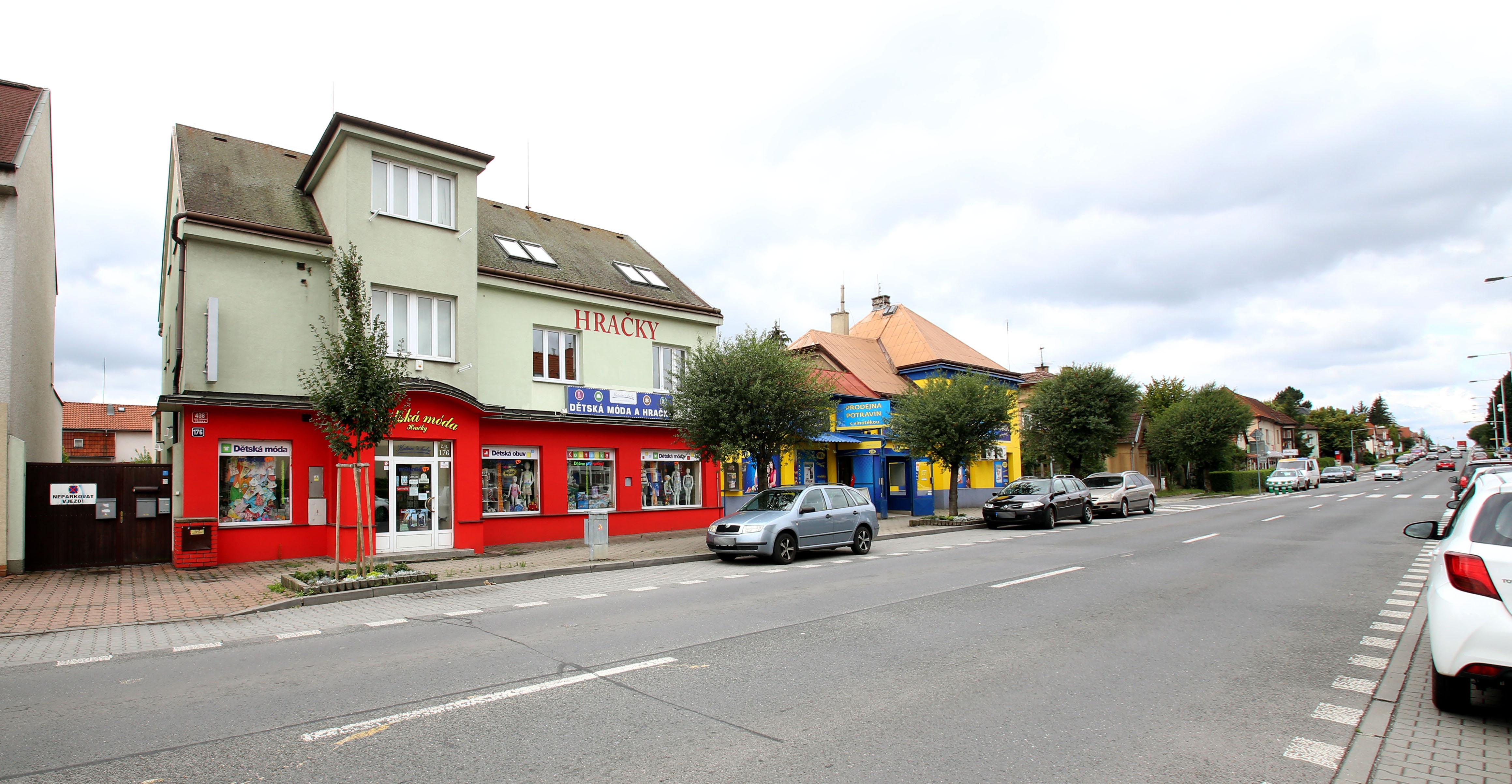 Náchodská ulice, Horní Počernice, kanceláře k pronájmu