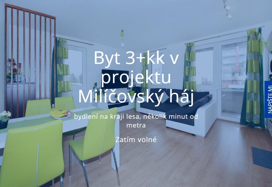 Byt Milíčovský háj