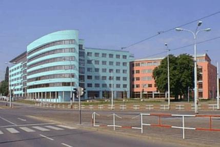 Budova katastrálního úřadu v Praze
