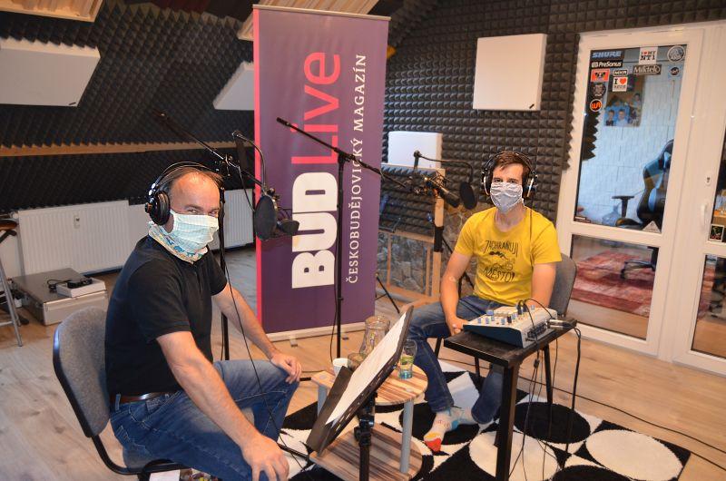 Lukáš Fajt jako host podcastu BUDLive