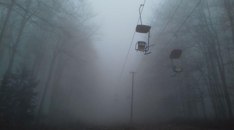 Mlha na Kleti